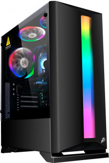 Корпус 1st Player Rainbow R6-R1 Color LED Black