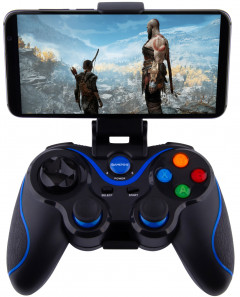 Беспроводной геймпад GamePro MG550 Bluetooth Android/iOS Black (MG550)