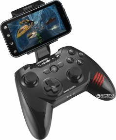 Беспроводной геймпад Mad Catz C.T.R.L. R Gloss Bluetooth PC/Android/iOS Black (MCB3226600C2/04/1)