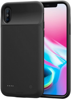 Чехол-аккумулятор Awei Wireless Backup Battery Case для Apple iPhone X Black (FSH89706)