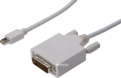 Кабель Digitus mini DisplayPort - DVI (24+1) AM/AM 3 м White (AK-340305-030-W)