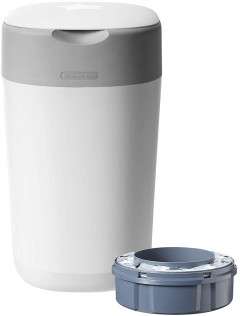 Накопитель подгузников Tommee Tippee Sangenic Twist and Click - Cotton White (5010415510013)