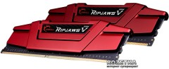 Оперативная память G.Skill DDR4-2666 16384MB PC4-21300 (Kit of 2x8192) Ripjaws V (F4-2666C15D-16GVR)