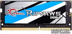 Оперативная память G.Skill SODIMM DDR4-2133 8192MB PC4-17000 Ripjaws (F4-2133C15S-8GRS)