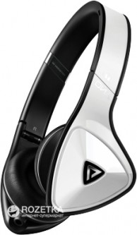 Monster DNA On-Ear Headphones Tuxedo White (MNS-137007-00)