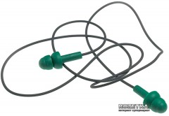 Беруши многоразовые MSA Right Reusable Ear Plugs 10087450 со шнурком Green