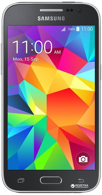 Samsung Galaxy Core Prime VE G361H Charcoal Gray (SM-G361HHADSEK) + защитное стекло в подарок!