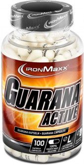 Энергетик IronMaxx Guarana Active - 100 капс (4260196290760)