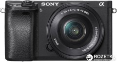 Sony Alpha 6300 Kit 16-50mm Black (ILCE6300LB.CEC)