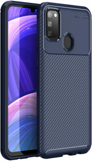 Панель BeCover Carbon New Series для Samsung Galaxy M30s SM-M307 Deep Blue (BC_704377)