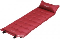 Самонадувающийся коврик KingCamp Base Camp Comfort Wine Red (KM3560 Wine red)