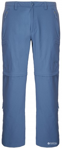 Брюки The North Face Men's Trekker Convertible Pant T0A6NH 34 р V4S- Ensign Blue (888654373899)