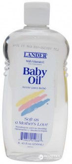 Масло для тела Lander Baby Oil with vitamin E 250 мл (813822010887)