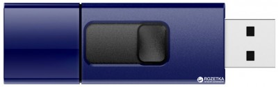 Флеш-пам'ять USB Silicon Power Ultima U05 32GB Deep Blue (SP032GBUF2U05V1D)