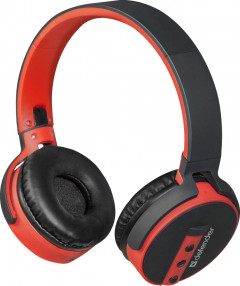 Наушники Defender FreeMotion B530 Bluetooth Black-Red (63530)
