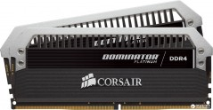 Оперативная память Corsair DDR4-3200 16384MB PC4-25200 (Kit of 2x8192) Dominator Platinum (CMD16GX4M2B3200C16) Black