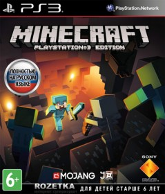 Minecraft. Playstation 3 Edition (PS3, русская версия)