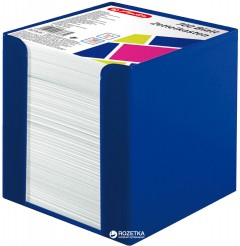 Бумага для заметок Herlitz Colour Blocking Active Blue 90х90 мм 700 листов Белая (50002351)