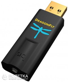 ЦАП AudioQuest Dragonfly DAC Black (DACBLKE)