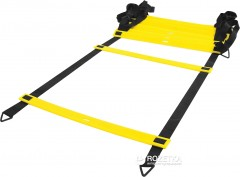 Лесенка LiveUp Agility Ladder координационная 8 м Black-Yellow (LS3671-8)