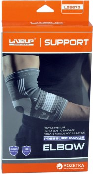 Фіксатор для ліктя LiveUp Elbow Support S/M (LS5673-SM)