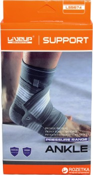 Фіксатор для щиколотки LiveUp Ankle Support S/M (LS5674-SM)