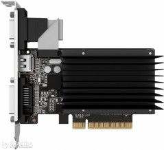 Palit PCI-Ex GeForce GT 710 1024MB DDR3 (64bit) (954/1600) (VGA, DVI, HDMI) (NEAT7100HD06-2080H)