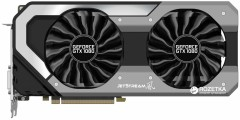 Palit PCI-Ex GeForce GTX 1080 JetStream 8GB GDDR5X (256bit) (1607/10000) (DVI, HDMI, 3 x DisplayPort) (NEB1080015P2-1040J)