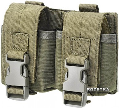 Пiдсумок Defcon 5 Double Molle Pounch OD Green (14220163)