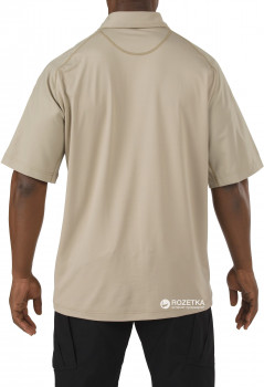 Футболка-поло тактична 5.11 Tactical Rapid Performance Polo - Short Sleeve 41018 Silver Tan
