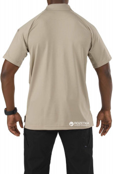 Футболка-поло тактична 5.11 Tactical Performance Polo - Short Sleeve, Synthetic Knit 71049 Silver Tan