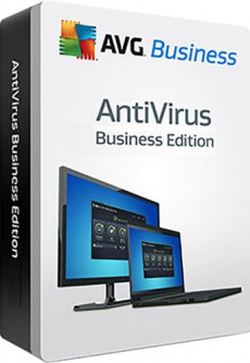 Антивирус AVG Antivirus Business Edition 1-4 ПК на 1 год (электронная лицензия) (AVG-ABE-(1-4)-1Y)