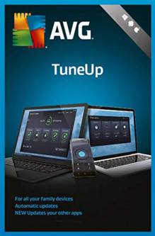 Антивирус AVG TuneUp Unlimited на 1 год (электронная лицензия) (AVG-TUp-U-1Y)