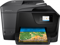 HP OfficeJet Pro 8710 with Wi-Fi (D9L18A) + USB cable