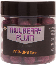Бойлы Dynamite Baits Pop-Ups Hi-Attract Foodbait Mulberry Plum 15 мм 90 г (DY1014)