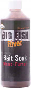 Аттрактант Dynamite Baits Liquid Attractant Big Fish River Bait Soak Meat-Furter 500 мл (DY1380)