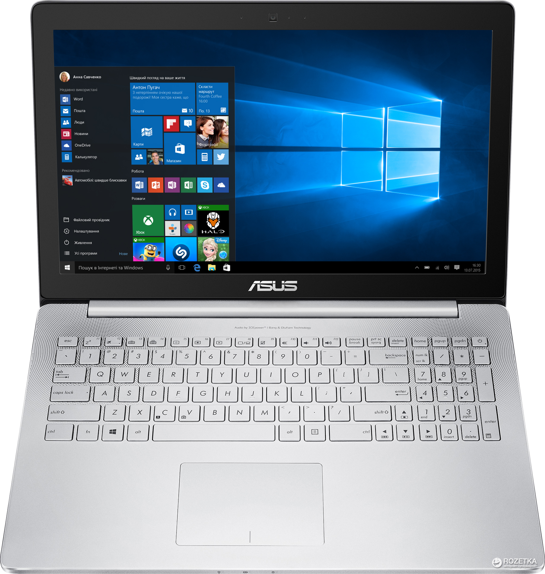 ASUS ZenBook Pro UX501 Smart Gesture Drivers for Windows 10