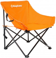Раскладное кресло KingCamp Steel Folding Chair Orange (KC3975 orange)