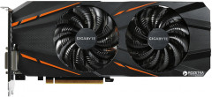 Gigabyte PCI-Ex GeForce GTX 1060 G1 Gaming 3072MB GDDR5 (192bit) (1594/8008) (DVI, HDMI, 3 x DisplayPort) (GV-N1060G1 GAMING-3GD)