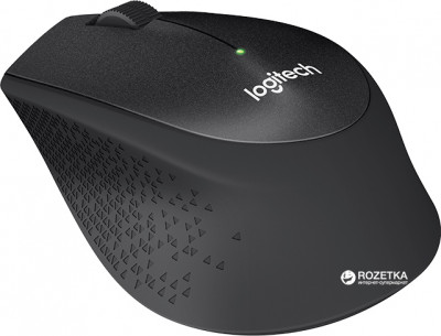 Миша Logitech M330 Silent Plus Wireless Black (910-004909)