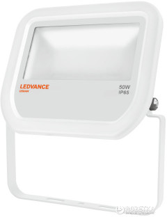 Прожектор LEDVANCE Flood 50W 3000K IP65 Белый (4058075001145)