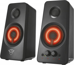 Акустическая система Trust GXT 608 Illuminated 2.0 Speaker Set Black (TR21202)