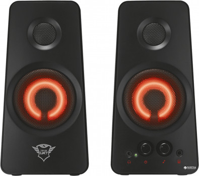 Акустична система Trust GXT 608 Illuminated 2.0 Speaker Set Black (TR21202)