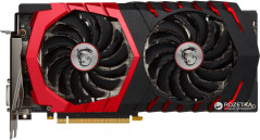 MSI PCI-Ex GeForce GTX 1060 Gaming 6GB GDDR5 (192bit) (1518/8008) (DVI, HDMI, 3 x DisplayPort) (GTX 1060 GAMING 6G)