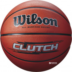 Мяч баскетбольный Wilson Clutch Basketball Size 7 SS16 Brown (WTB1434XB)