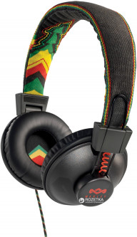 The House of Marley Positive Vibration Microphone Rasta (EM-JH011-RA)