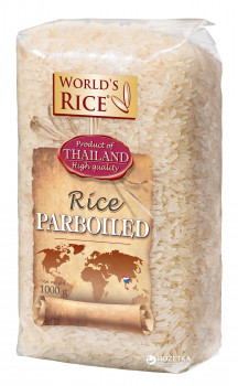 Рис World's rice Парбоилд 1 кг (4820009100848)