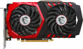 MSI PCI-Ex GeForce GTX 1050 Ti GAMING 4GB GDDR5 (128bit) (1303/7008) (DVI, HDMI, DisplayPort) (GTX 1050 TI GAMING 4G)
