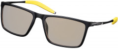 Очки компьютерные 2E Gaming Anti-blue Glasses Black-Yellow (2E-GLS310BY)
