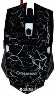Мышь GameMax M379B USB Black